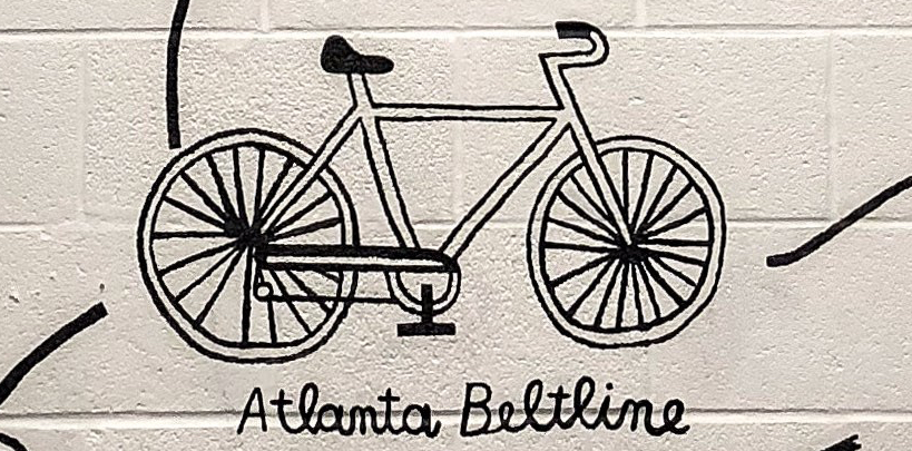 Biking & Art on the Atlanta BeltLine